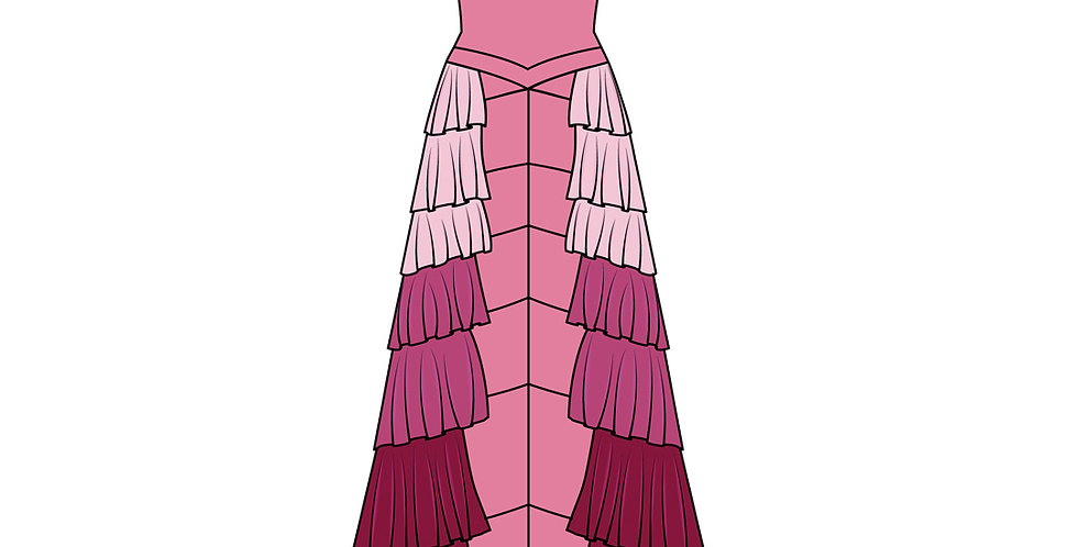 186622 ** Hermione Granger Yule Ball (kinder formaat)