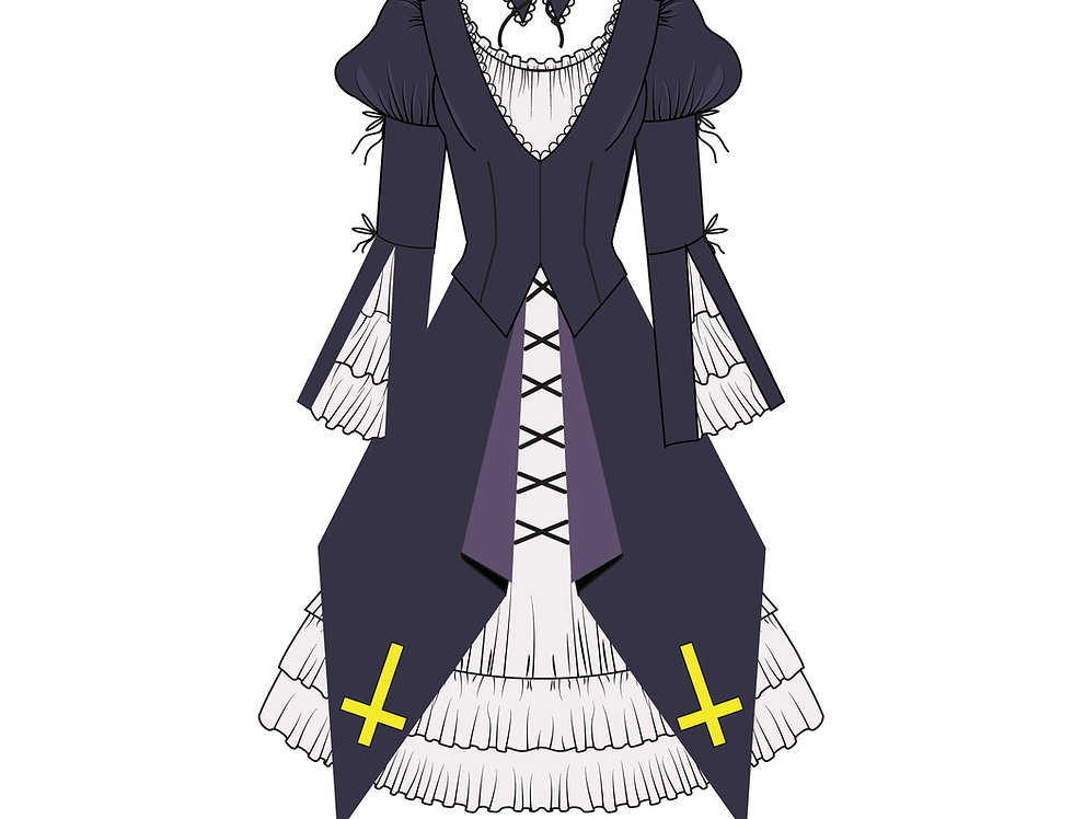166447 ** Suigintou from the anime Rozen Maiden.