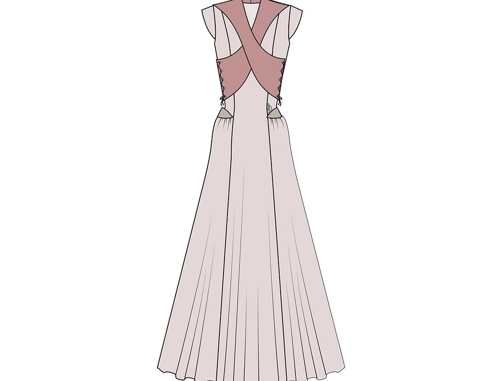 176575 ** Sansa's wedding dress Game of Throns