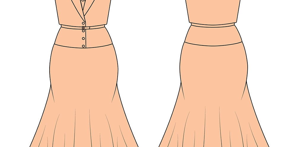 196776 * Zomer jurk.