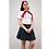 Thumbnail: 125870 *** Bleach dames schooluniform.