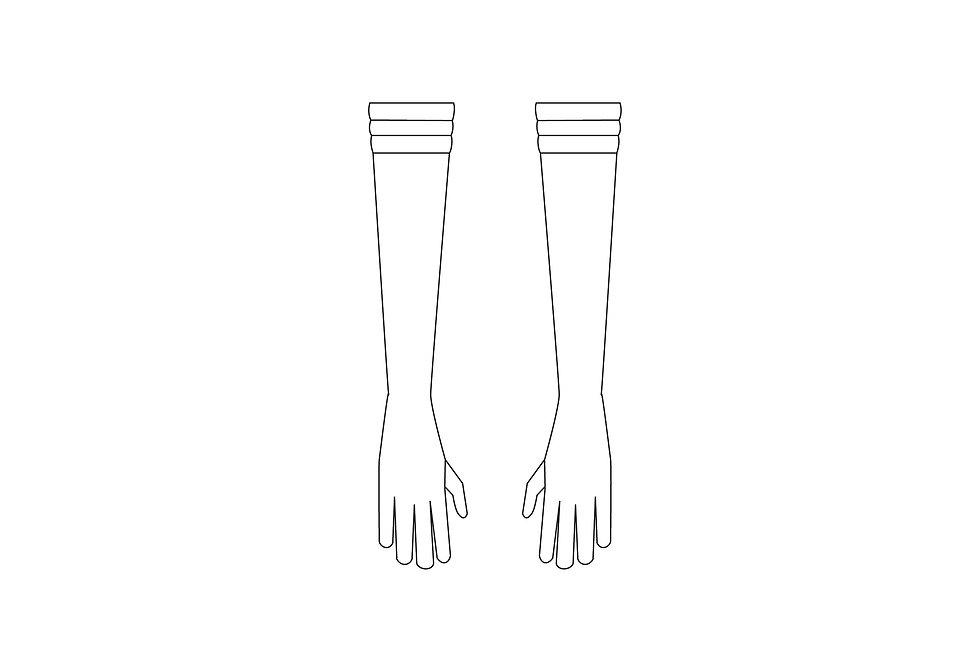 166442 *** Sailer Moon handschoenen.