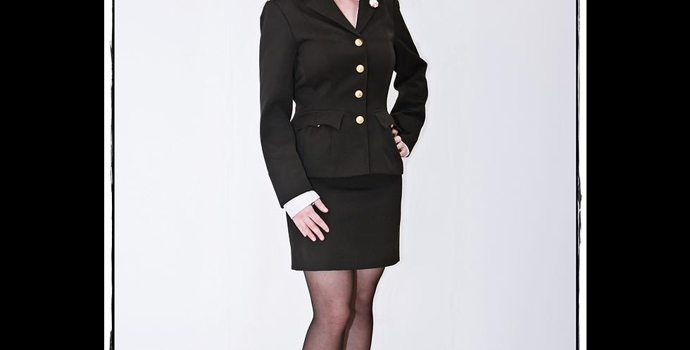 146197 ** Military gala ladies suit.