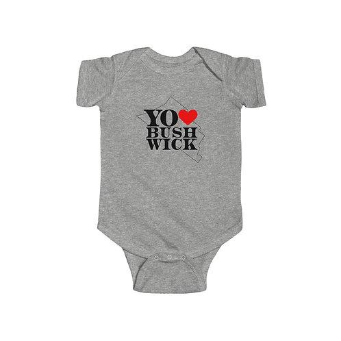 Baby Onesie - Yo Amo Bushwick Logo