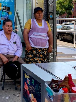 Bushwick Street Vendor