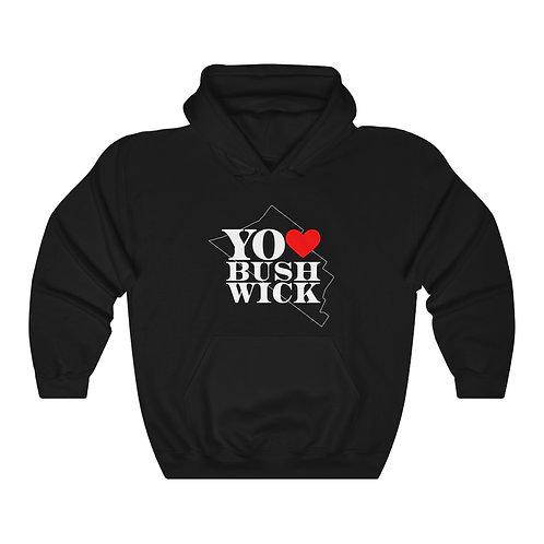 Adult Hoodie - Yo Amo Bushwick Logo