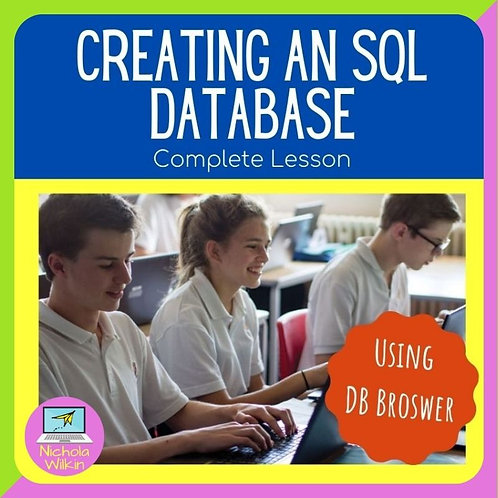 Creating an SQL Database using DB Browser