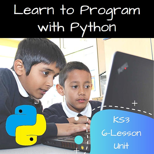 KS3 - Introduction to Python and using algorithms