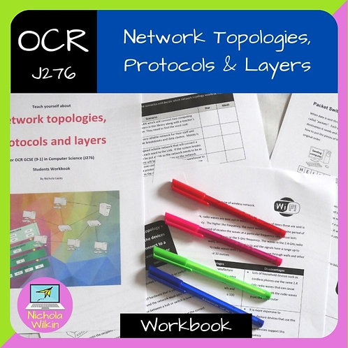 OCR Network Topologies, Protocols and Layers Workbook
