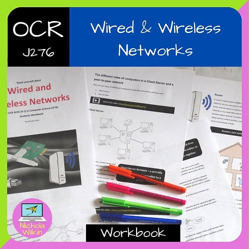 OCR Wired and Wireless Networks Workbook