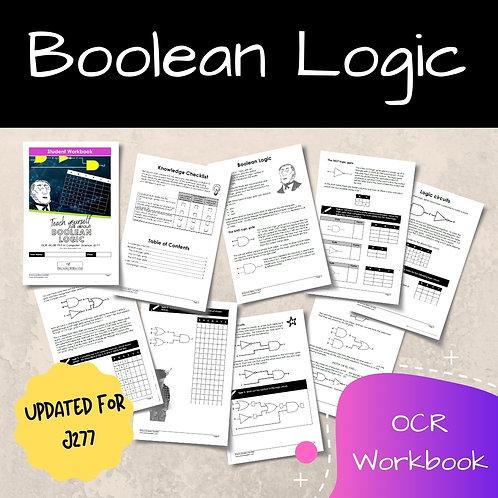 Boolean Logic OCR GCSE Computer Science Workbook (J277)