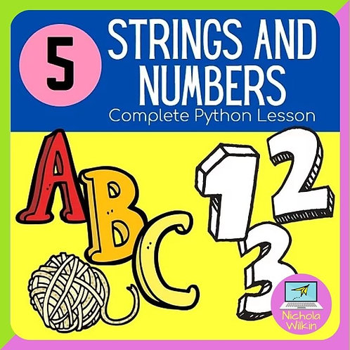 05 Strings and Numbers