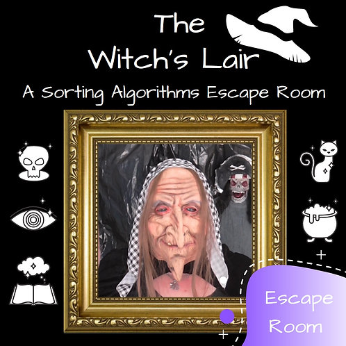 The Witch's Lair – A Sorting Algorithms Escape Room