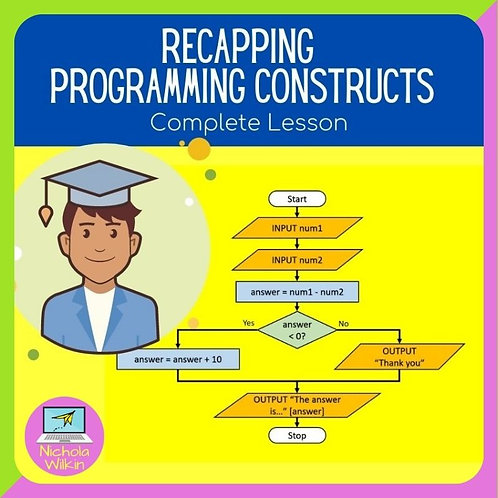 GCSE Recapping Programming Constructs