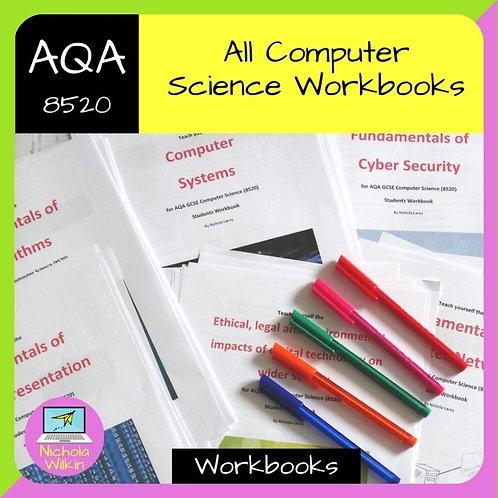 ALL AQA GCSE Computer Science Workbooks Bundle