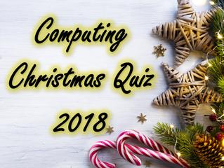 Computing Christmas Quiz 2018