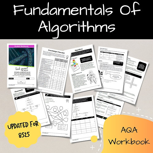 Algorithms AQA GCSE Computer Science Workbook (8525)