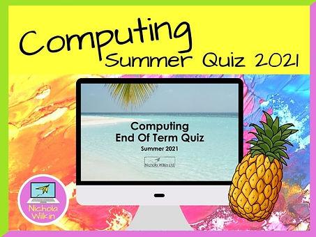 Free Summer Computing Quiz 2021