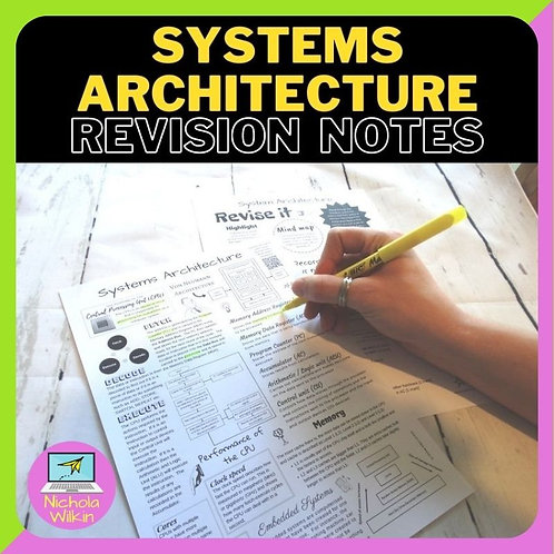 Systems Architecture Knowledge Organiser