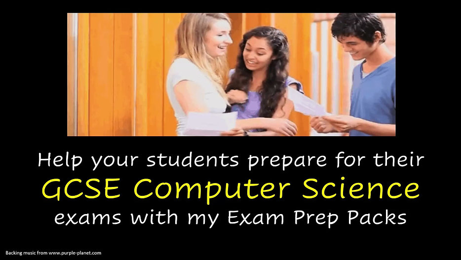 Find out about what is included in our Exam Prep Packs