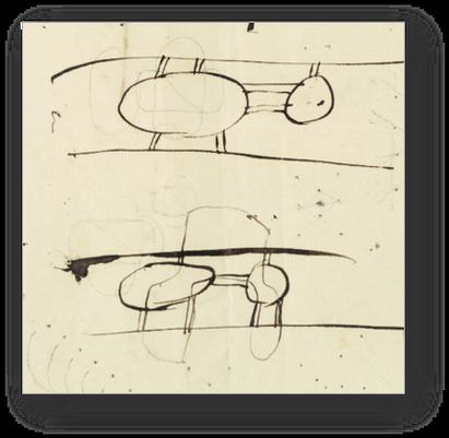 Ada's drawings of her flying machine