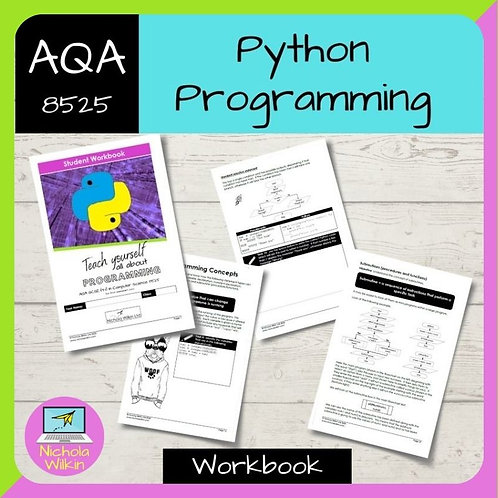 Python Programming AQA GCSE Computer Science Workbook (8525)