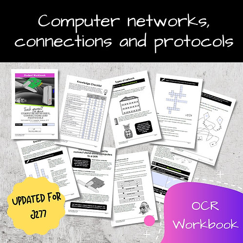 Computer networks, connections and protocols OCR GCSE Computer Science Workbook