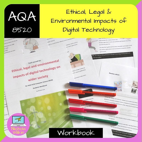 AQA Ethical, Legal and Environmental Impacts Workbook