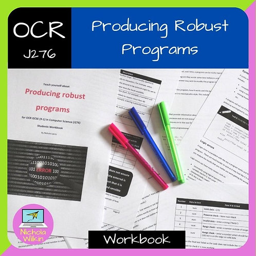 OCR Producing Robust Programs Workbook