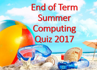 A fun computing lesson to end the year
