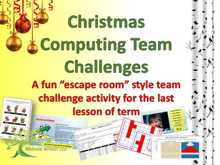 FREE end of term Christmas computing lesson