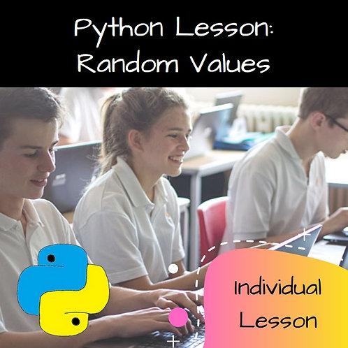 06 Random Values