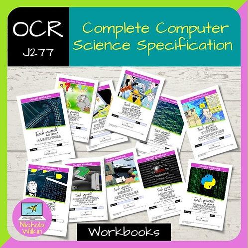 All OCR J277 Workbooks BUNDLE