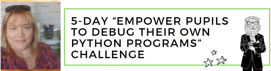 Empower pupils to debug their own programs