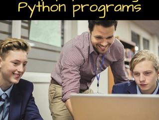 Help pupils debug Python programs