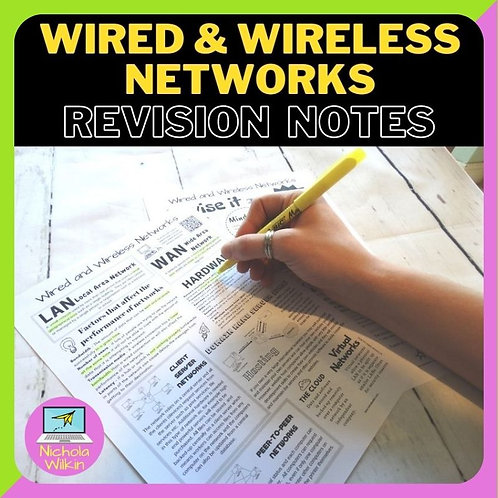 Wired and Wireless Networks Knowledge Organiser