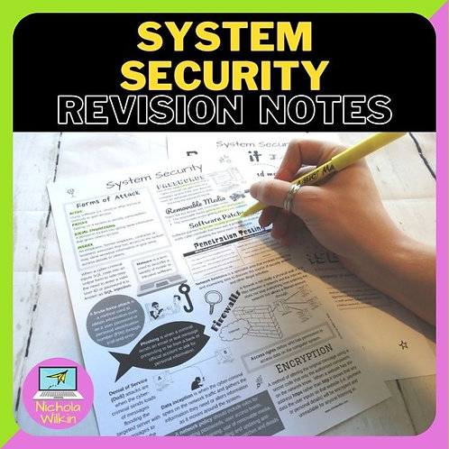 System Security Knowledge Organiser