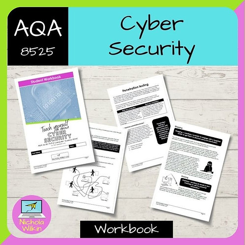 Cyber Security AQA GCSE Computer Science Workbook (8525)