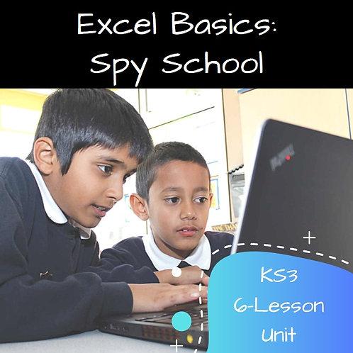 KS3 - Excel Basics - Spy School