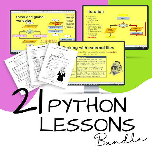21 Python Programming Lessons