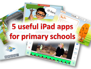Useful iPad apps for primary schools