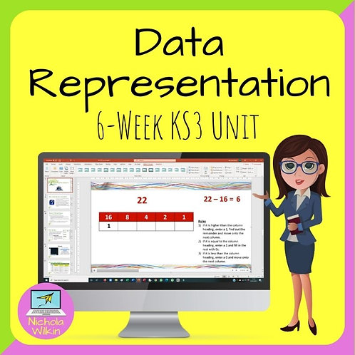 KS3 - Data Representation