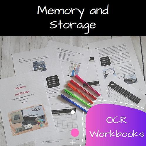 OCR Memory & Storage Workbook