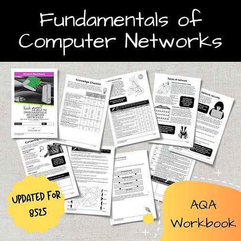 Fundamentals of Computer Networks AQA GCSE Computer Science Workbook (8525)