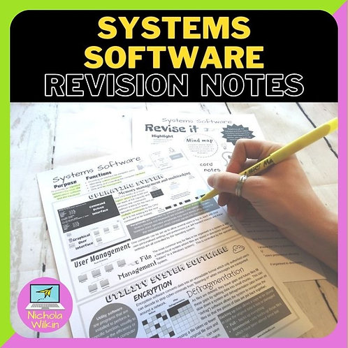 Systems Software Knowledge Organiser
