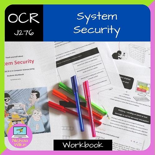 OCR System Security Workbook