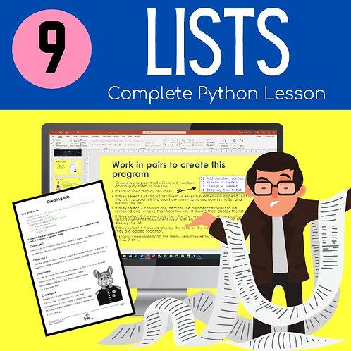 09 Lists