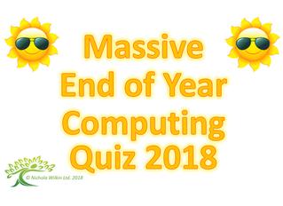 Summer Computing Quiz 2018