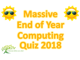 Summer Computing Quiz 2018