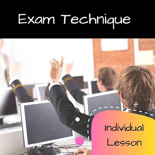 Exam Technique Revision Lesson